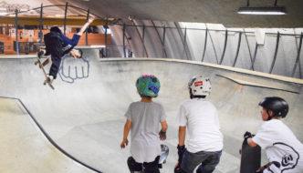 Piste da sci, fitness, skateboard, arrampicata: le attività di Big Air and the City non si fermano mai