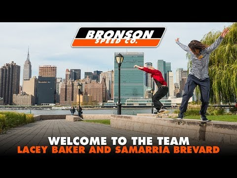 Lacey Baker & Samarria Brevard - Welcome To The Next Generation | Bronson Speed Co.