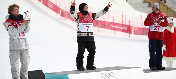 Seb Toots ha vinto l'Oro nel Big Air Snowboard a Pyeongchang 2018