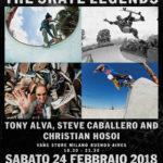 VANS ti invita ad incontrare le leggende dello skateboard – 24 febbraio @ Vans Store Buenos Aires