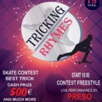 Tricking Rhymes Skate Contest