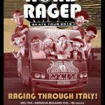 Volcom Road Rager Skate Tour 2018 Italy