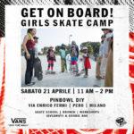 VANS ti invita al Girls Skate Camp – sabato 21 aprile @ Pinbowl DIY, Milano