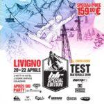 Test materiali 2019 a Livigno Carosello