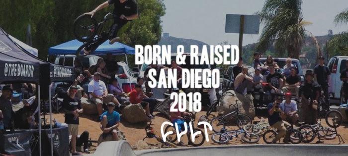 CULTCREW/ CHASE HAWK/ BORN & RAISED San Diego 2018