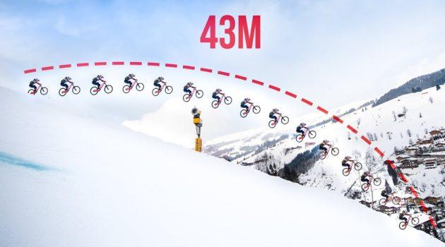 Il salto più lungo su una mountain bike? * 43m * – Il Dietro le quinte di Fabiolous Escape 2