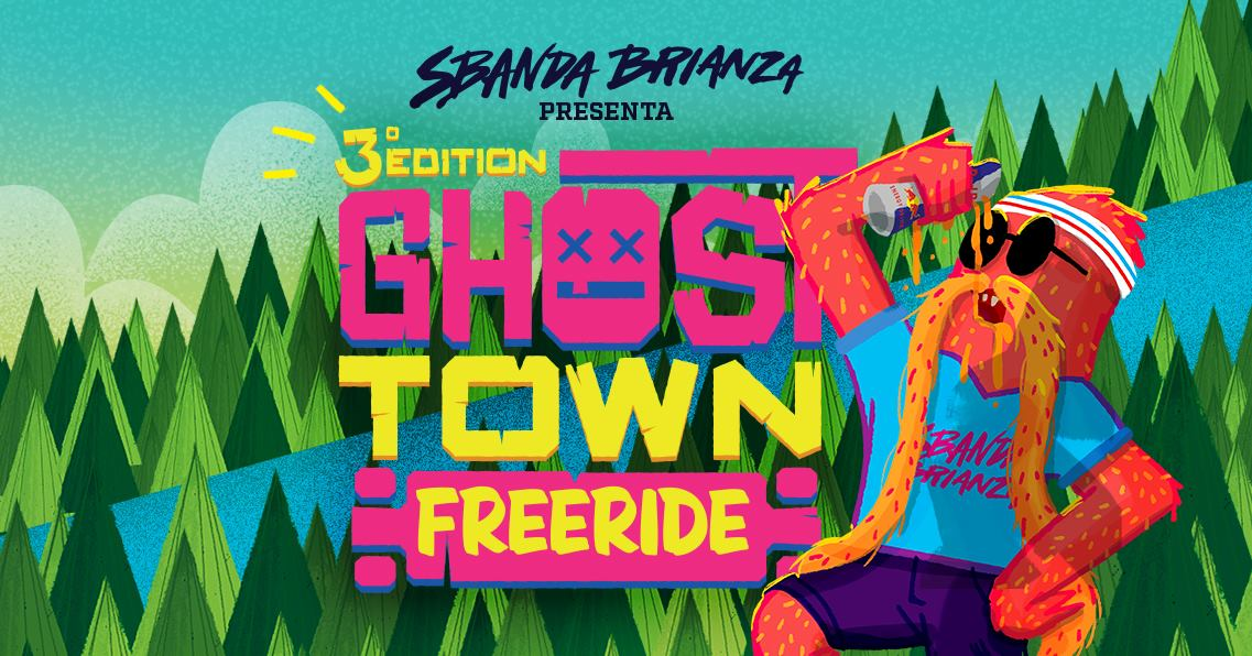 GHOST TOWN freeride 2018