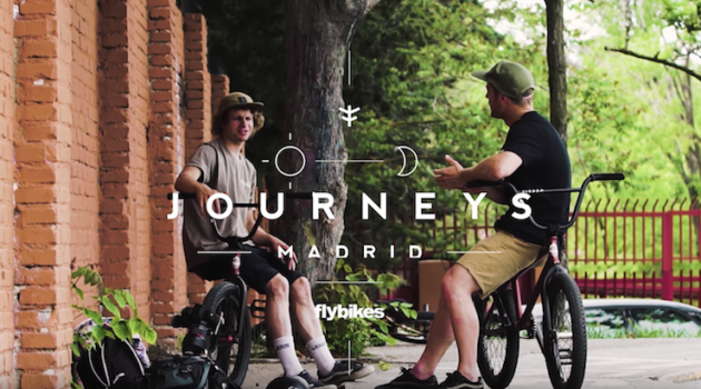 Flybikes Journeys – Sergio Layos & Sem Kok In Madrid