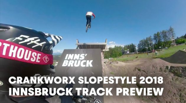 MTB Slopestyle track preview with Tyler McCaul & Matt Jones. | Crankworx Innsbruck 2018