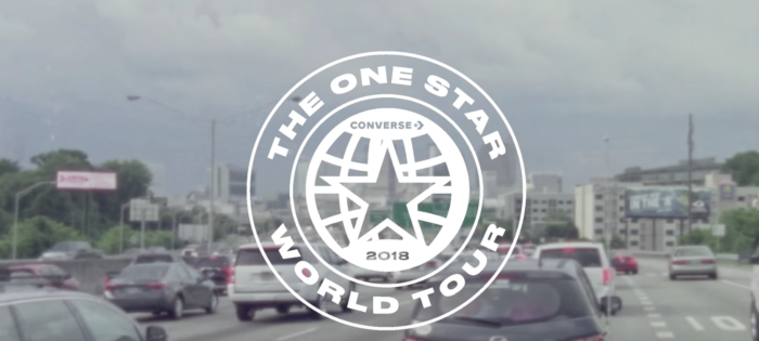Converse One Star World Tour 2018