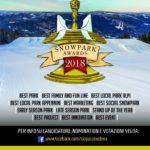 Gli Snowpark Awards di Skipass si rinnovano!