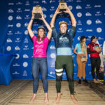 Julian Wilson and Courtney Conlogue Win Quiksilver Pro and Roxy Pro France