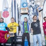 Grant 'Twiggy' Baker ha vinto il Big Wave Tour Nazaré Challenge
