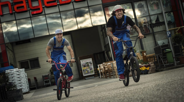 Un DIY lock-in per il BMX duo Grosic & Bohan