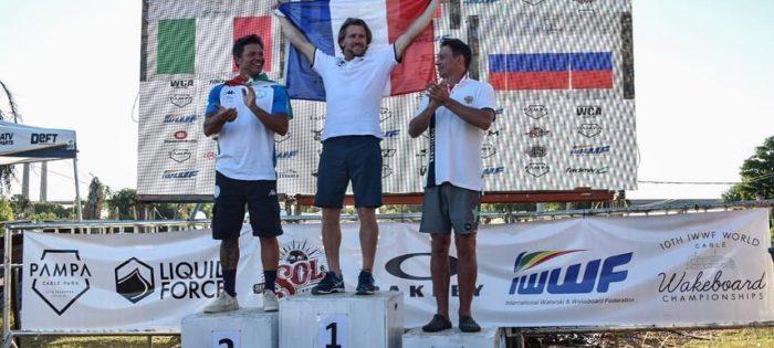 Rolando Fociani argento ai Mondiali di Cable Wakeboard & Wakeskate in Argentina!