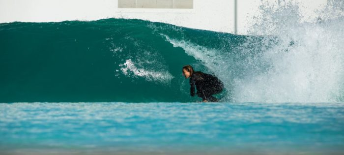 Rip Curl team al Wavegarden Cove