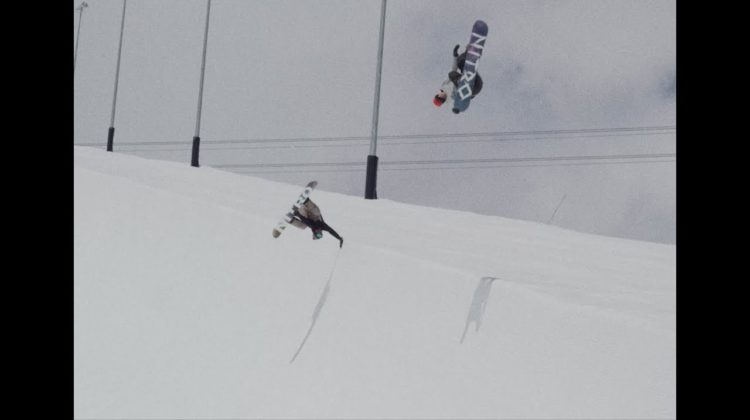 TWEAKERS | Jan Scherrer & Markus Keller Halfpipe Snowboarding Laax
