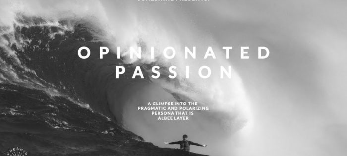 OPINIONATED PASSION – ALBEE LAYER