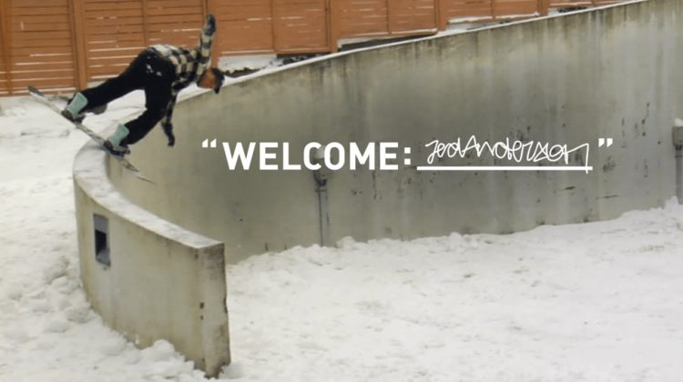 adidas Snowboarding | Welcome- Jed Anderson