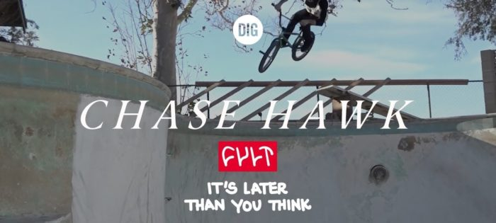 """CHASE HAWK – CULT CREW """"IT'S LATER THAN YOU THINK"""""""