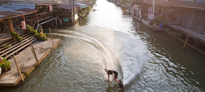 A picturesque wakeboard tour of Bangkok with Gührs