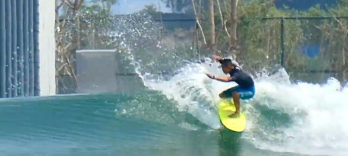 Wave Pool China – First Surfing Test