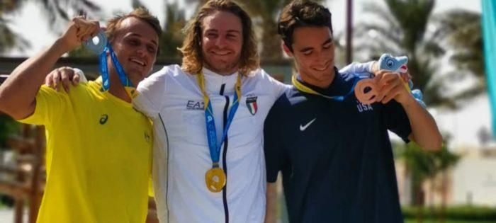 World Beach Games, Oro per Massimiliano Piffaretti, argento per Alice Virag