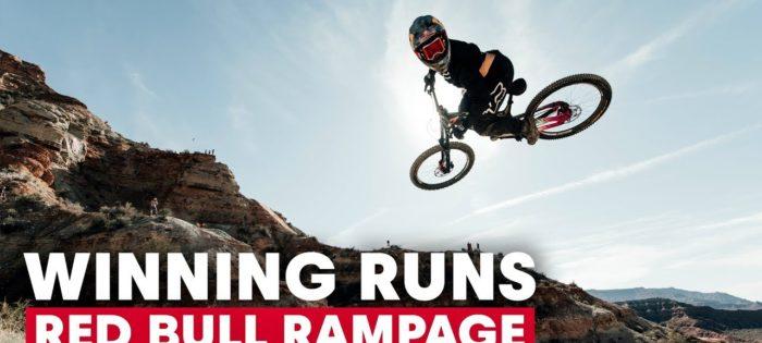 The Winning Runs of Red Bull Rampage (2010-2018)