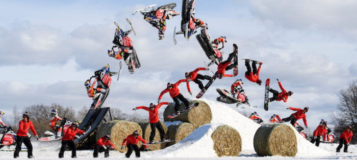 Levi LaVallee & Benny Milam – Red Bull Barn Burners