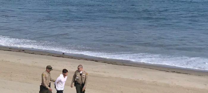 Stand Up Paddleboarder arrested in Malibù