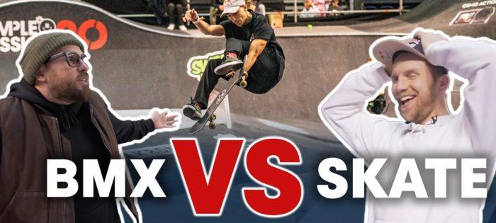 BMX VS SKATE: The Trick Battle Of 2020
